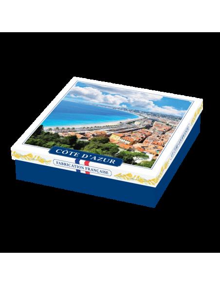Coffret Assortiment Biscuits et Confiseries Côte d'Azur