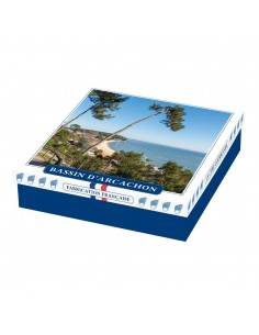 Coffret Assortiment biscuits et confiseries Bassin d'Arcachon