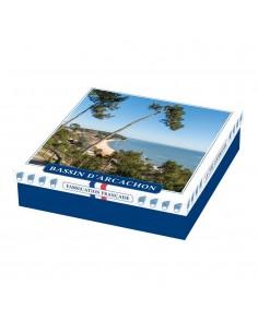 Coffret Assortiment biscuits et confiseries Bassin d'Arcachon