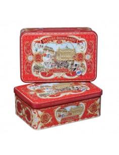 Boîte métal - Collection Rouge