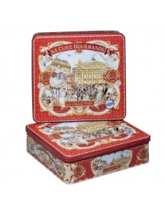 Square Tin - Red Collection
