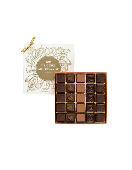 Noël Coffret 25 chocolats avec alcool