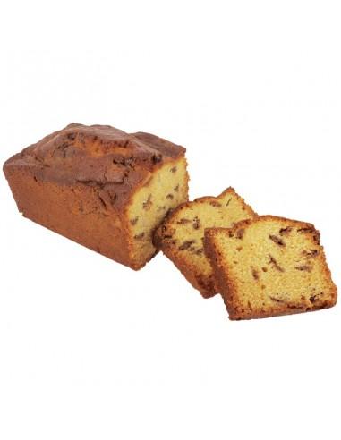 Cake caramel et chocolat