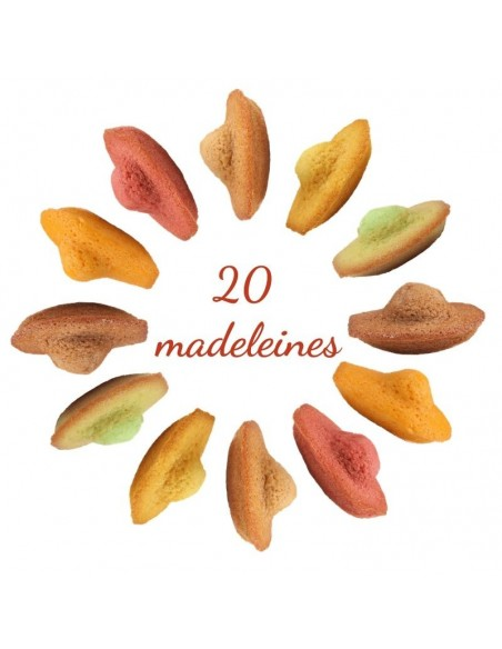 Assortiment de 20 Madeleines
