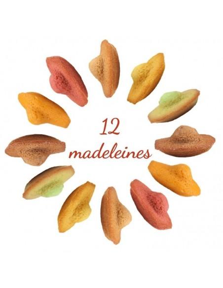 Assortiment de 12 Madeleines