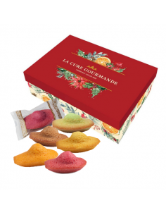 24 madeleines - Red Gift Set