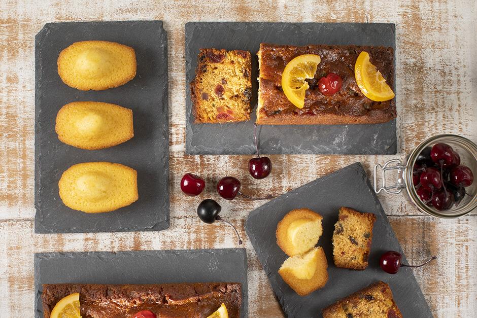 Madeleines et Cakes