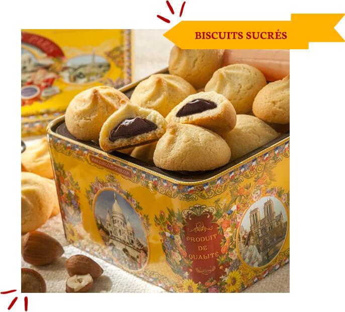 LA CURE GOURMANDE BISCUITIER DEPUIS 1989. Biscuits SUCRÉS
