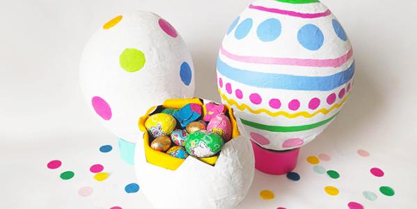 DIY : la piñata de Pâques